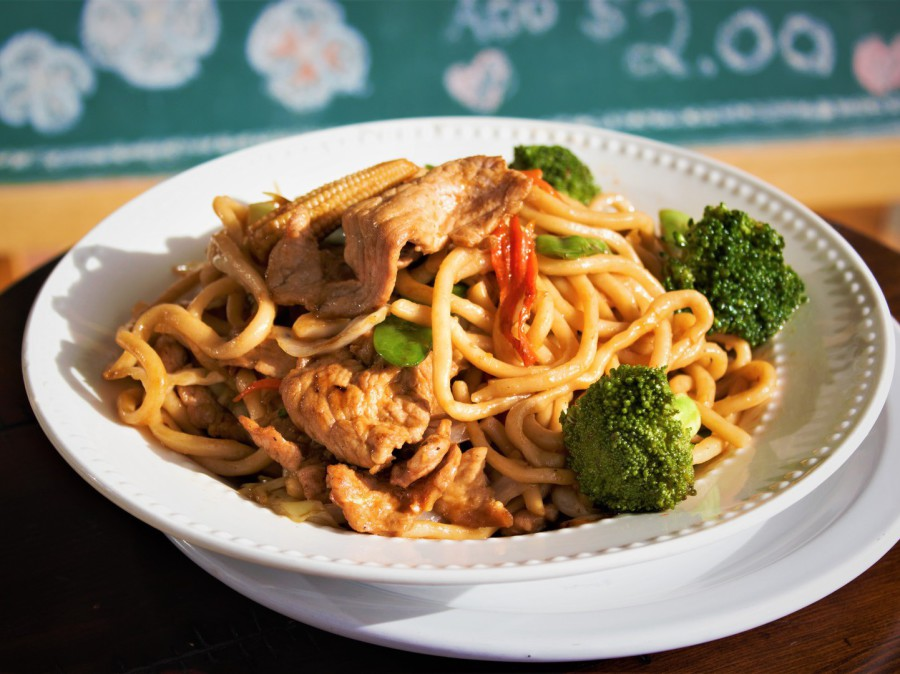StirFried Lo Mein Noodles